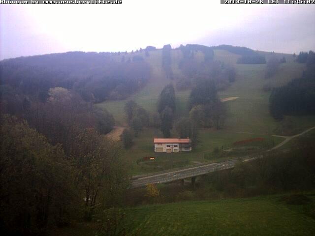 Webcam Ski Resort Arnsberg Rhön Mountains