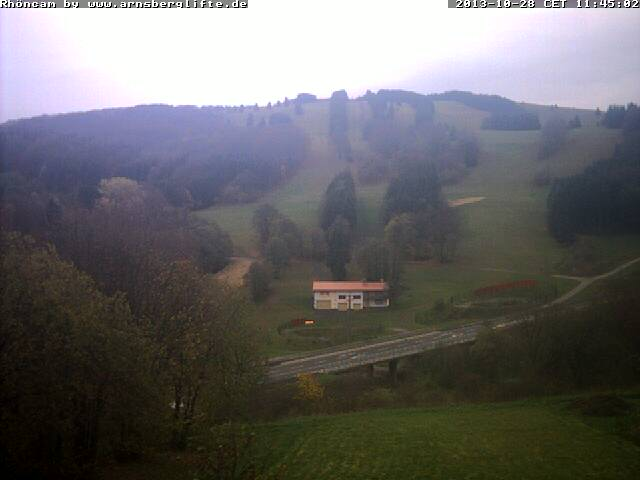 Webcam Skigebiet Arnsberg Rhön