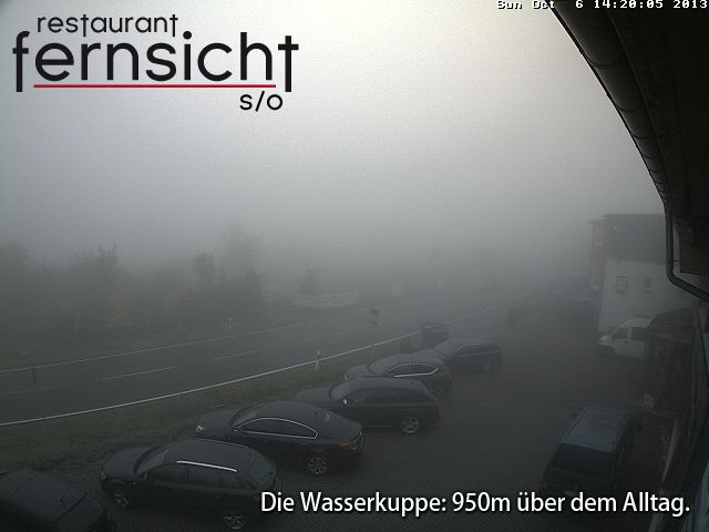 Webcambild Wasserkuppe/Rh&ouml;n