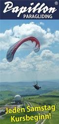 Papillon Rhöner Drachen- und Gleitschirm-Flugschulen Wasserkuppe